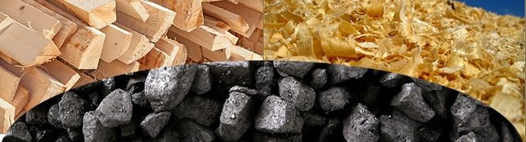 Уголь, дрова, опилки