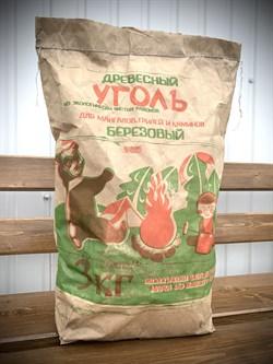 Уголь древесный берёзовый (3 кг) - фото 254783